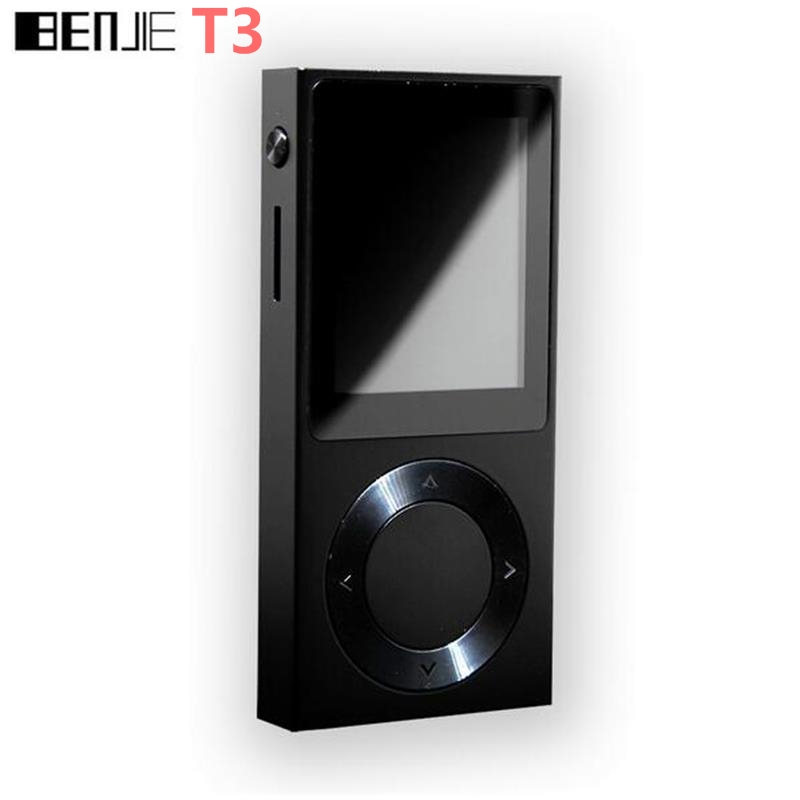 Original BENJIE-T6 HiFi MP3 Music Player 1.8 TFT Screen Full Zinc Alloy Lossless HiFi Music Player Support DSD /Bluetooth/