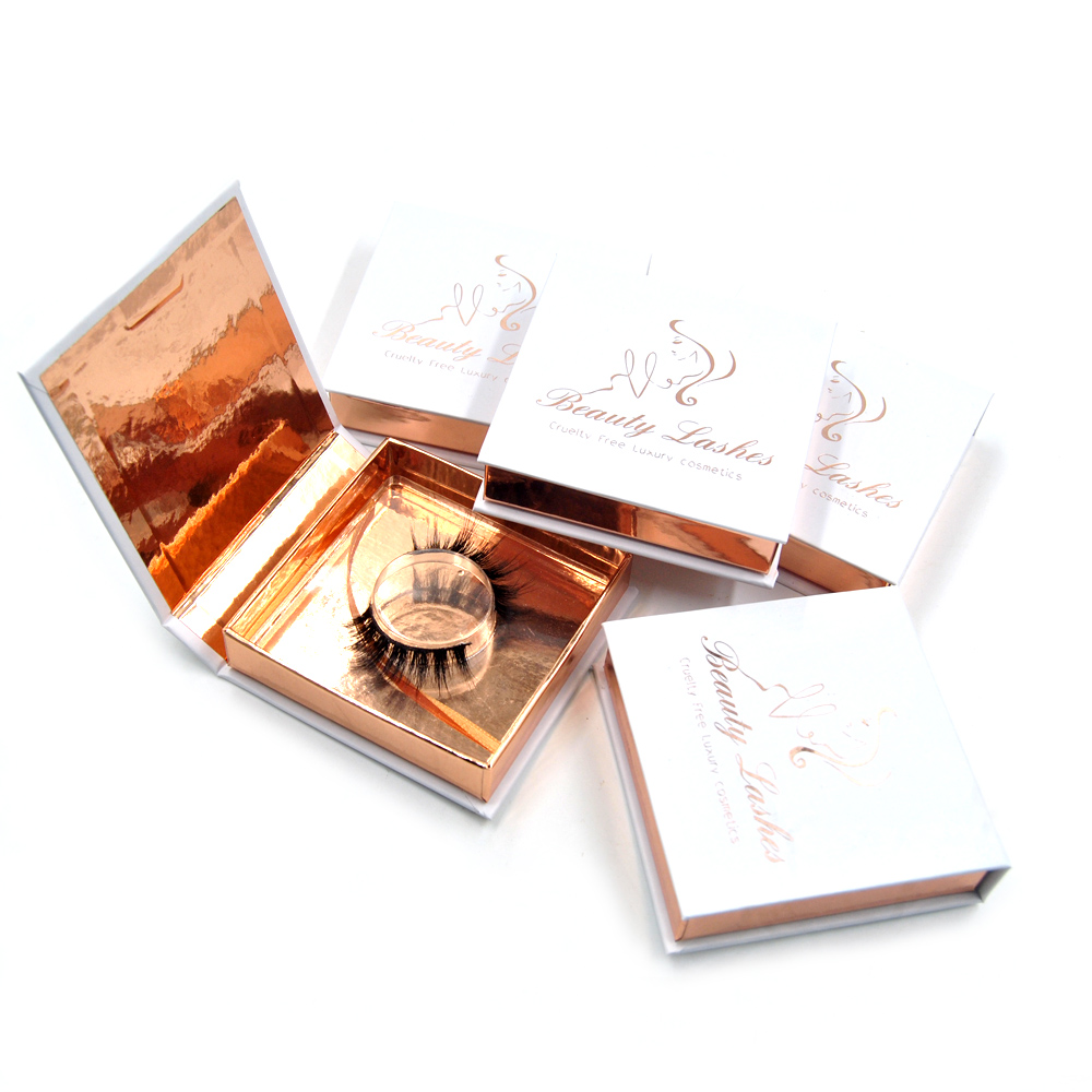 1pc 3D Mink Eyelashes Cruelty Free Dramatic Mink Lashes Natural Soft Long Crisscross Full Volume Eye Makeup Magnetic Box 10style