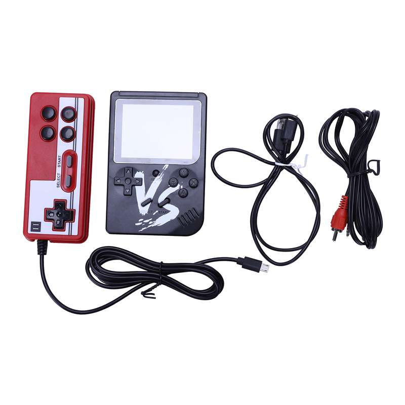Image 5 - Powkiddy 2.6 Inch Retro Game Mini Handheld Console Support AV Output Built In 500 Games Double Player With Game Controller-in Handheld Game Players from Consumer Electronics