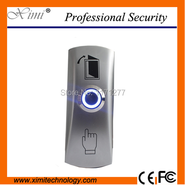 For door access control system push button with LED light steel stainless exit button exit switch zndiy bry bhr 202 stainless steel ir sensing door access control system switch silver