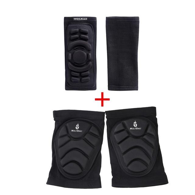 4Pcs Elbow Knee Pads  2