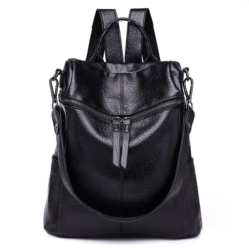 Feminine Casual Large Capacity Shoulder Bags Vintage Women Backpack