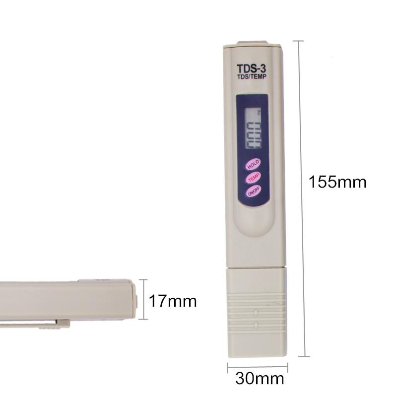 Skaitmeninis TDS matuoklio testeris Vandens kokybės tyrimui testerio - Matavimo prietaisai - Nuotrauka 2