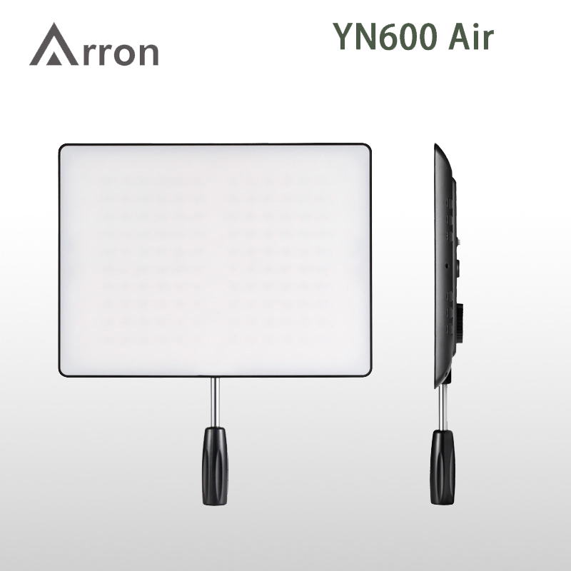 NEW HOT YONGNUO <font><b>YN600</b></font> <font><b>Air</b></font> Led Video Light Panel 5500K and 3200K-5500K Bi-color Photography Studio Lighting image