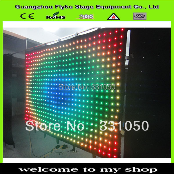 Hot Stage Flexible And Lightweight LED Video Screens