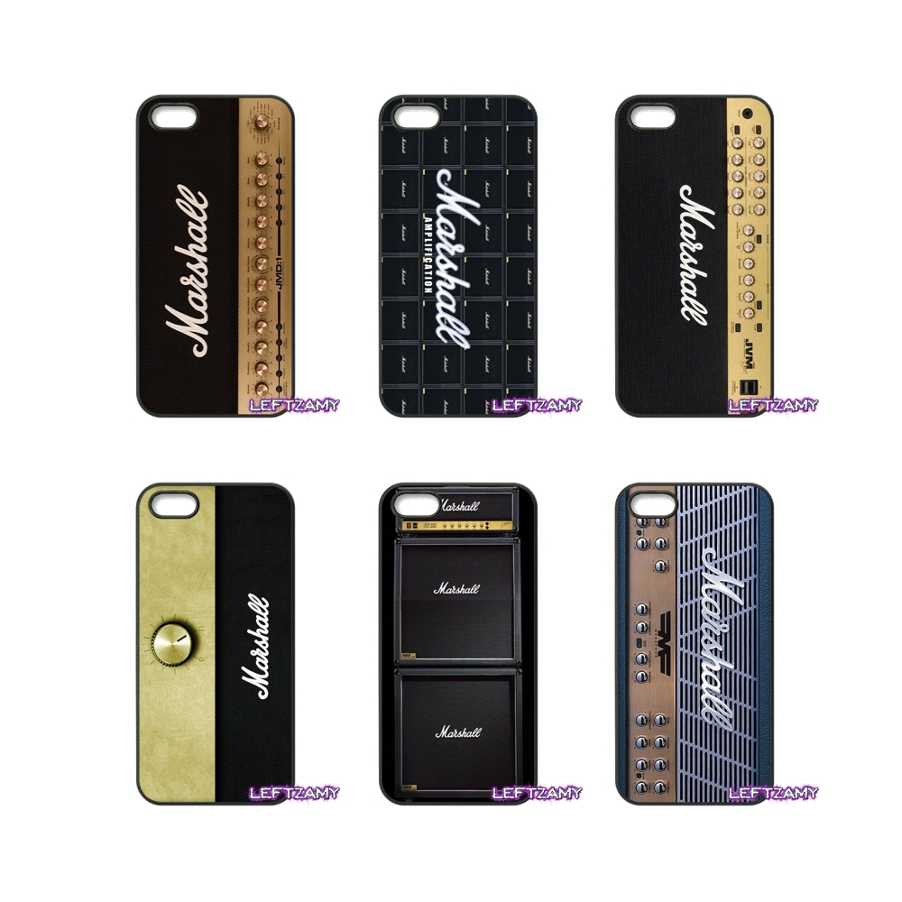 Marshall Sound Box Pattern Hard Phone Case Cover For Huawei Ascend P6 P7 P8 P9 P10 Lite Plus 2017 Honor 5C 6 4X 5X Mate 8 7 9
