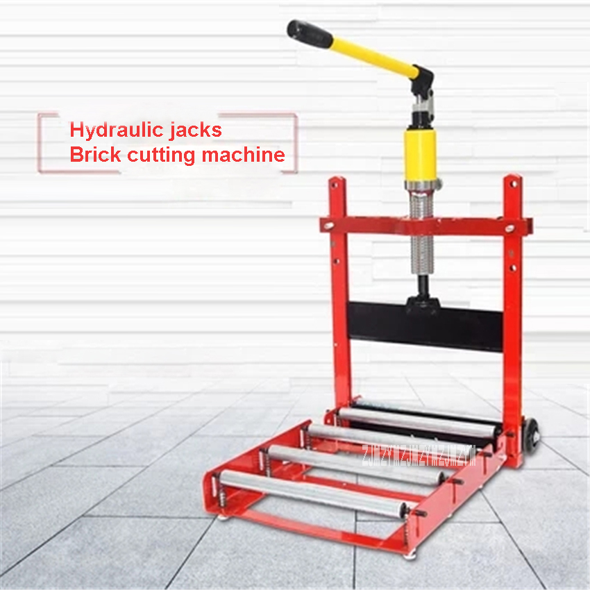 Type 300 Hydraulic Jack Brick Cutting Machine Portable Lightweight Brick Cutting Tool Aerated Brick Foam Brick Cutting Machine