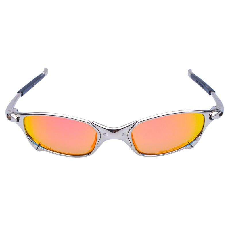 WUKUN Polarized Cycling Glasses Alloy Frame Sport Riding Bike Goggles Eyewear oculos de ciclismo gafas CP003-5