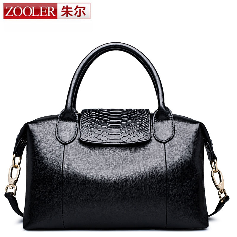 где купить  ZOOLER Famous Brands Luxury Designer Handbags High Quality Genuine Leather Bags For Women Messenger Crossbody Bag Ladies Bride  дешево