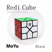Newest MoYu Redi Cube Magic Colorful Puzzle Speed Cube Professional Triangle Shape Cube Twist Educational Kid