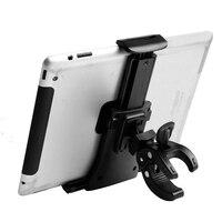 "5 3 3.5 ~ 12"" Bicycle Phone Holder Tablet Mount for ipad 1 2 3 Samsung Pad Universal Adjustable Handle Mount Bike Motorcycle Bracket (5)"