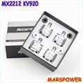 Novo 4 set/lote MARSPOWER Ares MX2212 KV920 multi-eixo do motor brushless para DJI FANTASMA Para A Frente/Reverso + frete grátis