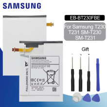 SAMSUNG Tablet Battery EB-BT230FBE For Samsung Galaxy Tab 4 7.0 7.0 SM-T230 SM-T231 SM-T235 T230 T231 T235 4000mAh Battery xskemp tablet screen protector film tablet for samsung galaxy tab 4 7 0 t230 t231 t235 9h real tempered glass protective guard