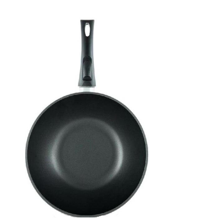 Сковорода-вок Нева металл посуда, Титан, 30 см