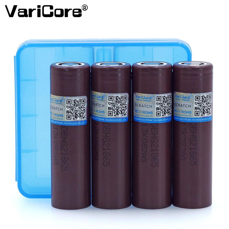 VariCore Original for LG HG2 18650 3000mAh battery 18650HG2 3.6V discharge 20A, dedicated electronic Power battery+18650 box