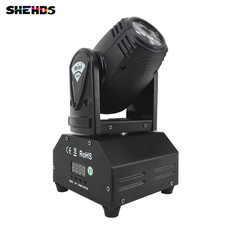 Fast shipping Mini LED 10W RGBW Beam Moving Head Light Beam High Power Light with Professional for Party KTV Disco Stage DJ 2pack 132w beam moving head dj disco party stage lights high power 2r 132w stage beam effect moving head light free shipping