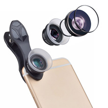 Apexel mobile phone lens Super Macro 12X 24X camera Lenses for iPhone 5S 6S PLUS Xiaomi Samsung note 5 S7 edge lens with clip