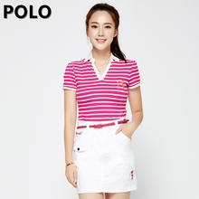 Brand Polo Anti Leakage Ladies Womens Golf Skort Skirt Solid Gift Holiday Skirts Shorts Cotton Mini Short Skirts