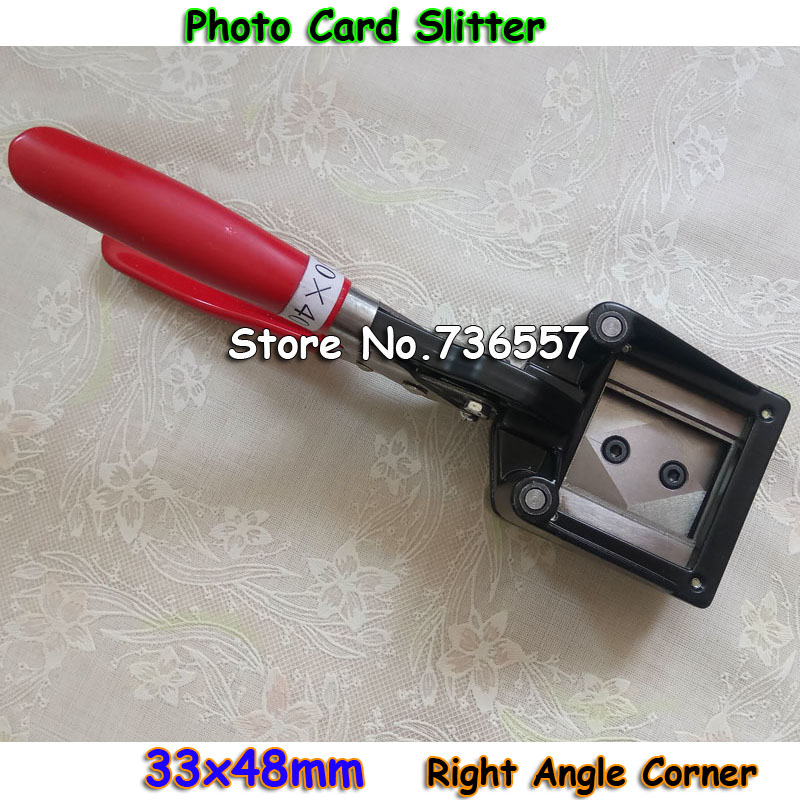 Hand-type Photo Cutter II For ID Card Photo,ID Card Slitter,33x48mm Right Corner