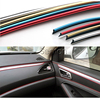 5M Car-Styling Decoration Strip Stickers For Porsche Macan Ford Focus 2 3 1 Fiesta Mondeo Kuga Fusion Ecosport Accessories 2016