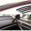 5M Car-Styling Interior Decoration Strip For Porsche Macan Ford Focus 2 3 1 Fiesta Mondeo Kuga Fusion Ecosport Accessories 2016