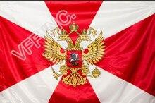 Exército russo Russo Tropas 3ft x 5ft Polesyter Bandeira Bandeira do Vôo Interno 150 * RA91 90 centímetros Bandeira Personalizada ao ar livre