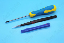 30sets Handle Maintenance Tool Cross Screwdriver Tweezers Crowbar For 3DS 3DSLL NDSI PS4 Free Shipping