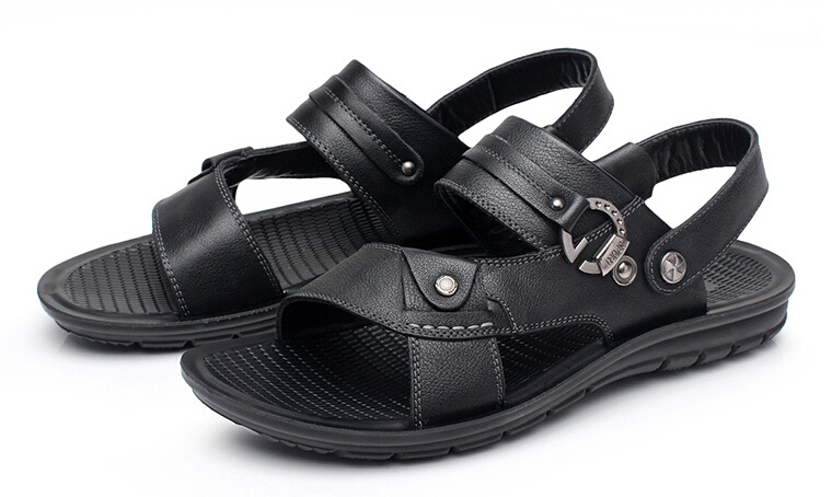 2015 Hot Mens Sandals Slippers New Fashion Brand flip flops plus size 38-43 mens sandals