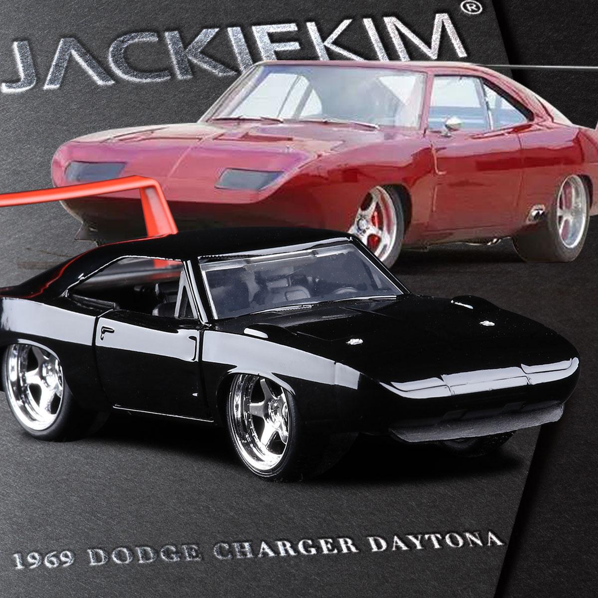 Jada 1 32 scale high simulation alloy model car dodge 1969 charger daytona