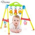 Inteligência infantil música multifuncional quadro aptidão bebê atividade play chocalho do bebê música toy standing ginásio educacional toys