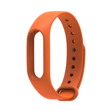 Replace Strap for Xiaomi Mi Band 2 Version MiBand 2 Silicone Wristbands for Mi Band 2 Smart Bracelet 10 Color for Xiao Mi Band 2