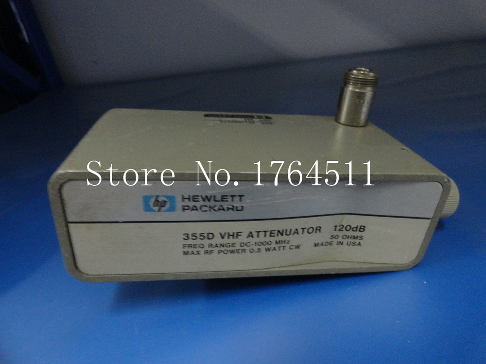 [BELLA] Original 355D DC-1GHZ 120dB Supply Adjustable Step Attenuator