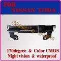 Автомобильная камера заднего вида парковки система резервного копирования заднего вида камера заднего вида для NISSAN TIIDA багажник ручка парковочная камера ночного видения