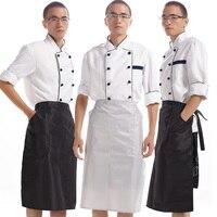 Korean Pvc Waterproof Kitchen Apron Bust Adult Men Cook Aprons Custom Work Kitchen Apron Korean Clothes