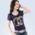 Venda quente vestido de Lantejoulas T Shirt Mulheres 2016 Primavera Verão Longo T-shirt de manga comprida Feminina Tamanho Grande 4XL Preto/Azul/Branco Tshirt da Camisa Femme
