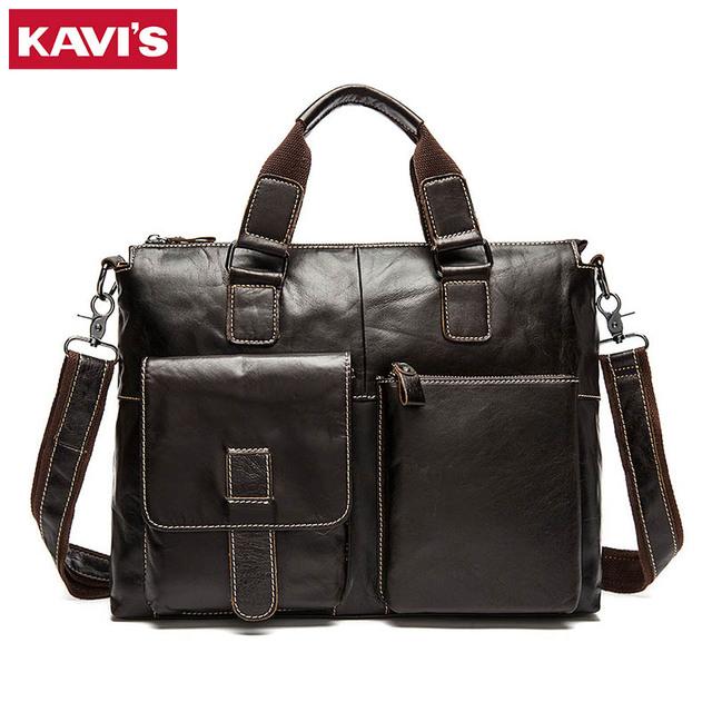 85d1d6229684 KAVIS handbag bag Men Travel for Laptop Briefcase Male Crossbody Hand Sling  O handles Tote and Purses Shoulder Bolsas Sac Tas