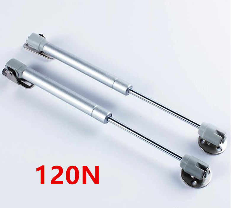 2018 New 120N Furniture Hinge Kitchen Cabinet Door Lift Pneumatic Support Hydraulic Gas Spring Stay Hold Pneumatic hardware