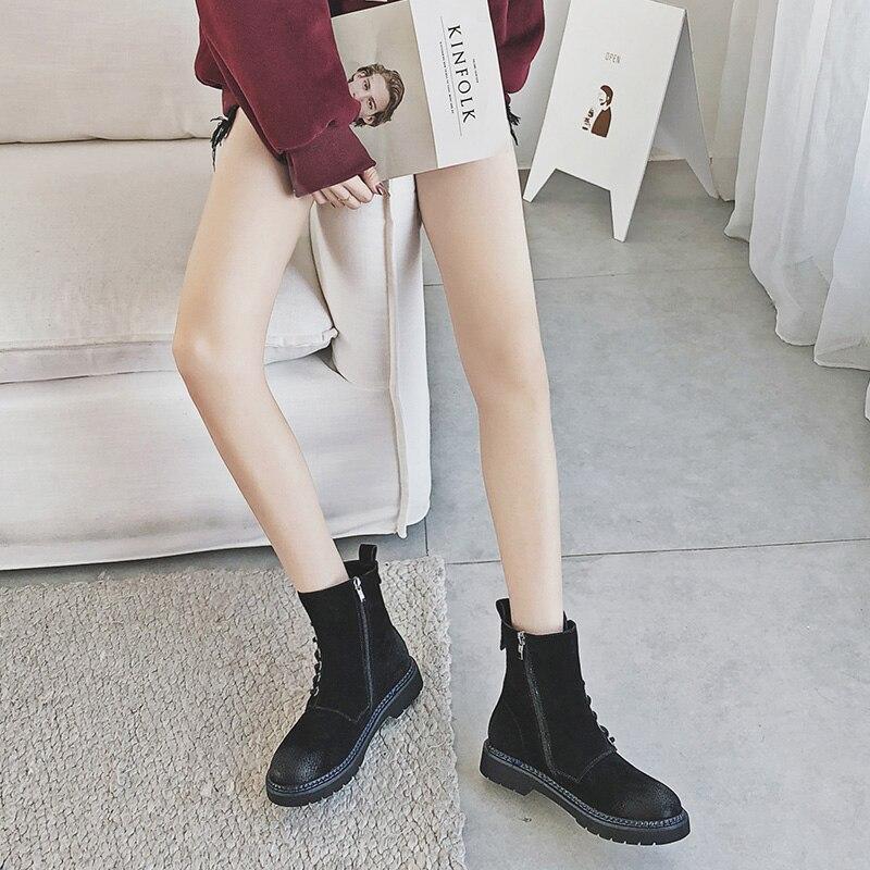 Marque black Cuir 2018 Feminina Luxe Chaussures Italienne warm winter En Femme Confort warm Mycoron Lace De Boot D'hiver Bottes up Nouveautés Winter Femmes Bota brown 1Ixqnwd0