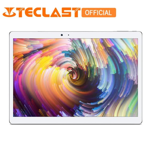 "Teclast Master T10 10.1"" Android 7.0 Tablet PC MT8176 Hexa Core 4GB RAM 64GB ROM 2560*1600 8.0MP+13.0 MP HDMI Fingerprint Sensor"