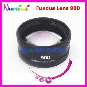 Image 2 - 90DM ほど良く volk レンズ! 眼科非球面眼底スリット ランプ連絡ガラス レンズ ハード プラスチック ケース詰め送料無料