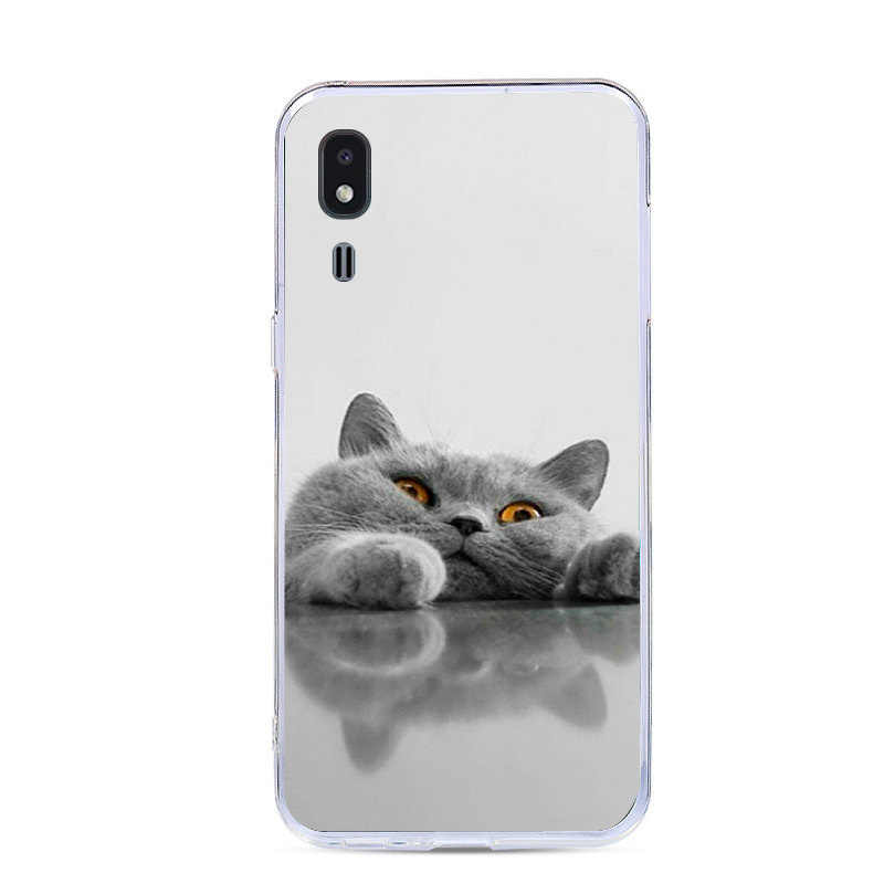 5.0'' For Samsung Galaxy A2 Core Case 2019 Painted Silicone Soft TPU Back Cover For Samsung A 2 Core A2Core Phone Cases A260F