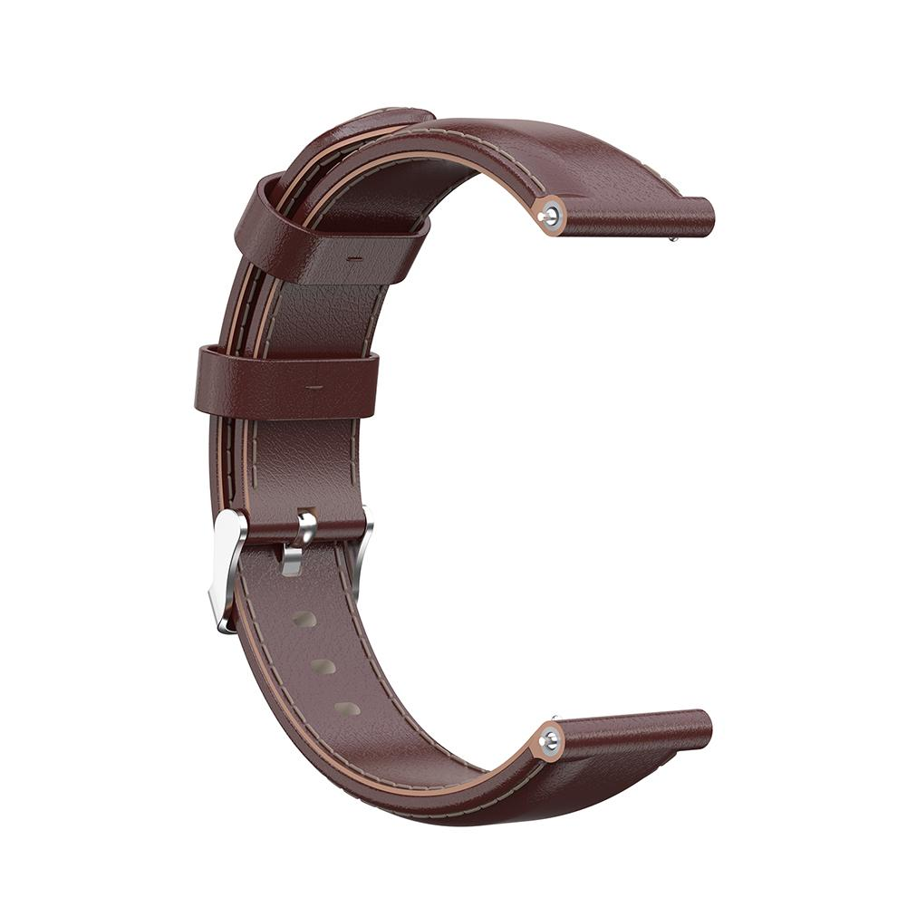 Image 4 - New Soft Replacement Strap Suitable For Forerunner 245 Oil Wax Leather Strap Beautiful And Comfortable Durable Wrist Strap-in Smart Accessories from Consumer Electronics