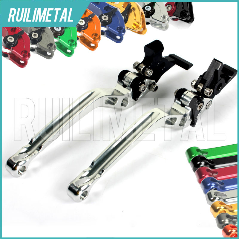 Adjustable long straight Clutch Brake Levers for DUCATI 1098 R S Tricolore 2007 2008 Monster 1100 2009 2010 2011 2012 2013 12 13 billet aluminum long folding adjustable brake clutch levers for ducati hypermotard 1100 s evo sp 2007 2012 2008 2009 2010 2011