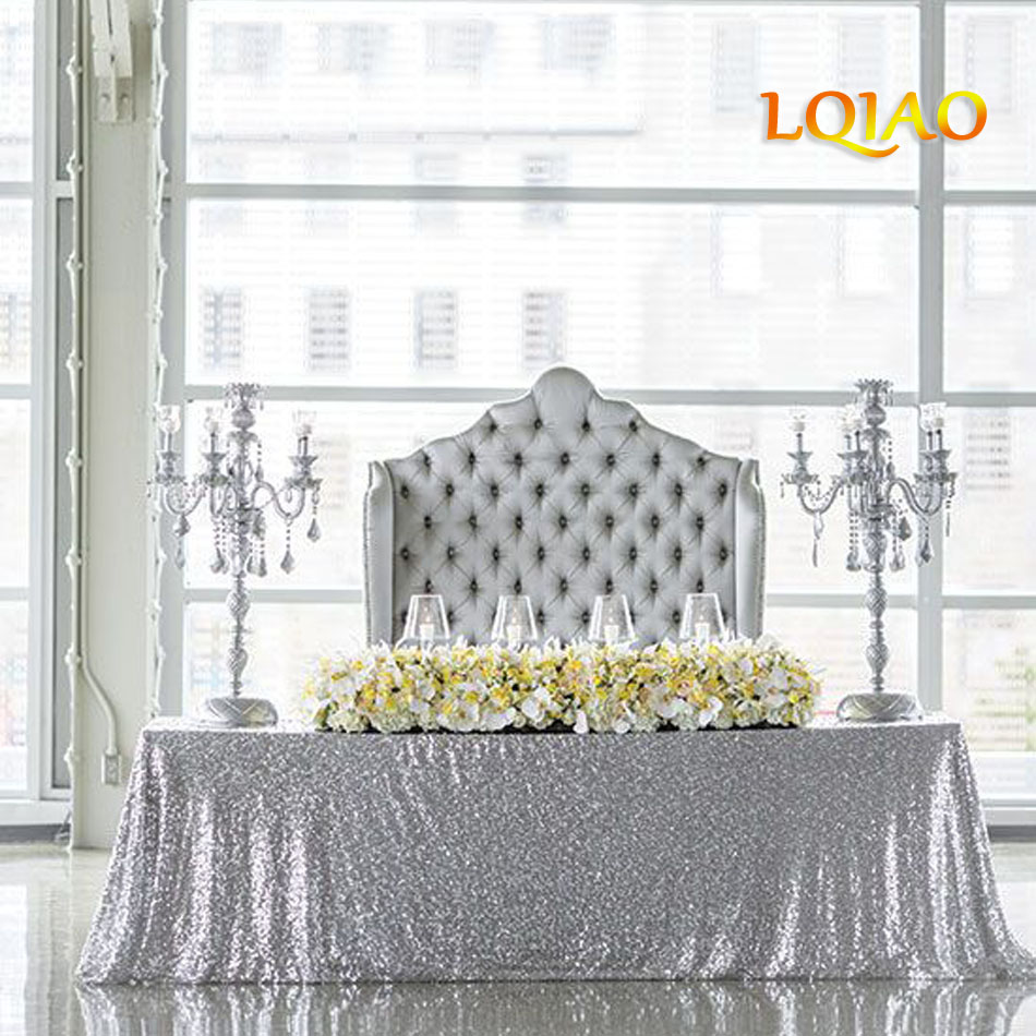 """10 Rectangle 90/""""x132/"""" Polyester Tablecloths 6ft Banquet Table Cover 12 Colors"""