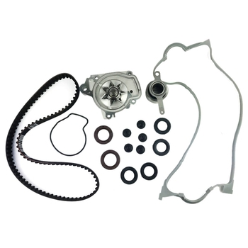 Timing Belt Kit + Water Pump Valve Cover + Gaskets Replacement For Honda Civic Del Sol 1.6L Sohc 96-00 251502816495