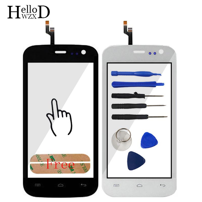 Front Touchs Screen Mobile Phone Touch Glass For Explay Golf Touch Screen Digitizer Panel Window Lens Sensor Free Adhesive