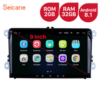 Seicane For VW/Volkswagen/Golf/Tiguan/Passat/b6 b5 RAM 2GB ROM 32GB 9 inch Android 8.1 Car Head Unit Stereo player Radio GPS