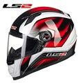 Nuevo casco ls2 ff358 ls2 de la cara llena de la motocicleta casco urbano racing capacetes casco casque moto motociclismo motocross cascos ece