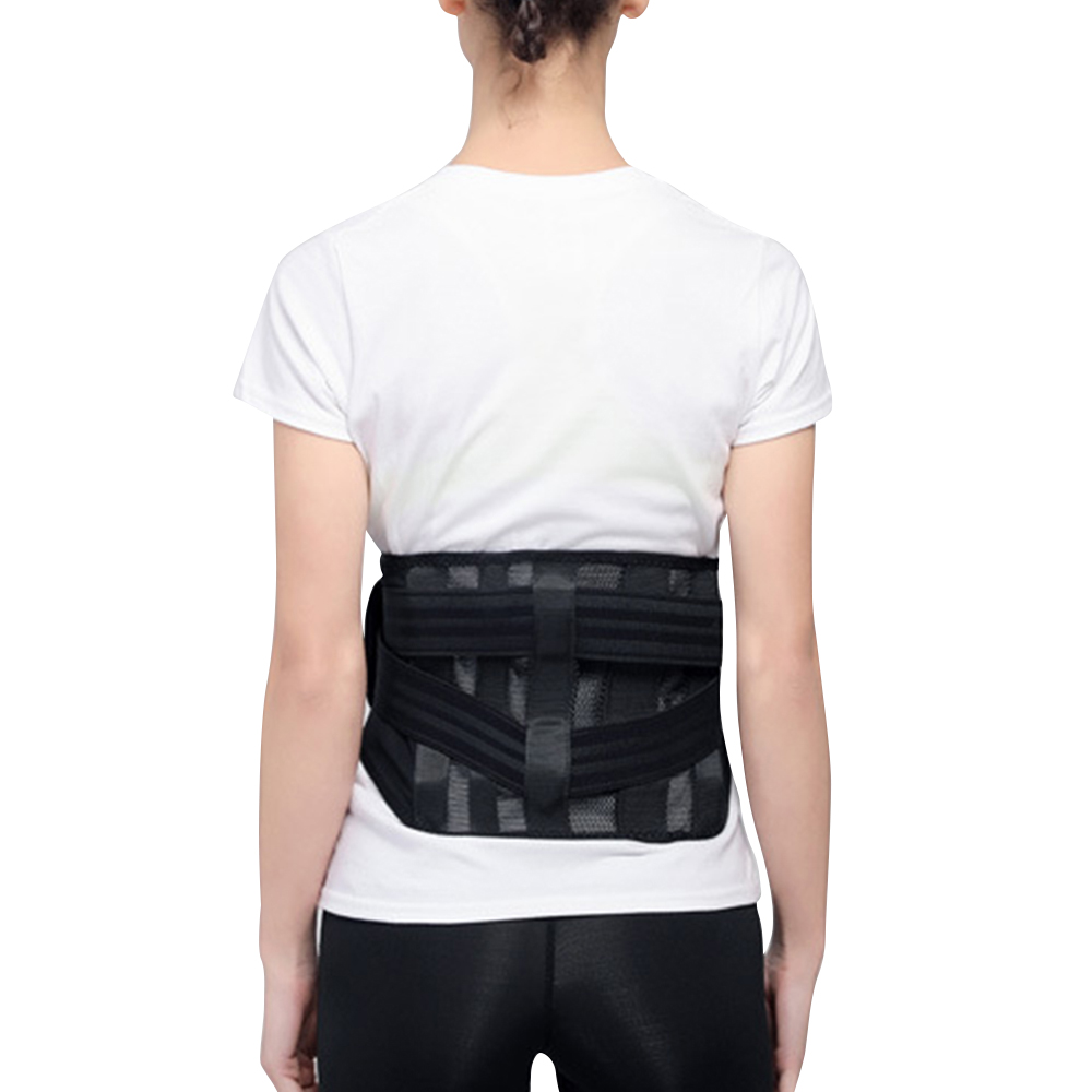 Back Brace Support Belt Men Medical Corset Back Lumbar Support Waist Protection Magnetic Theropy Waist Support