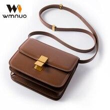 Wmnuo 2019 Small Bag Women Genuine Cow Leather Mini Shoulder Bag Ladies Handbags Crossbody Bags Messenger Bag High Quality Hot недорго, оригинальная цена